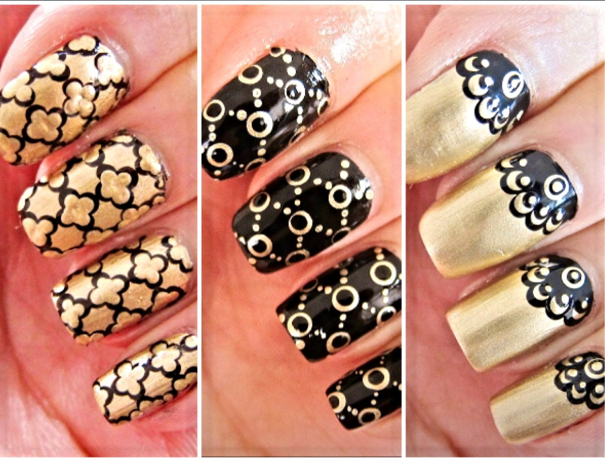 3 Easy Nail Art for Beginners Using a Dotting Tool | Nail Art ...