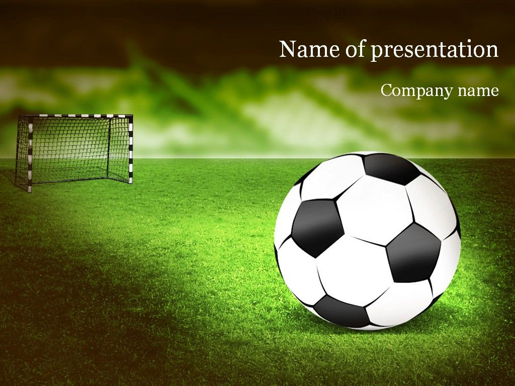 Soccer powerpoint template templates pinterest template and ppt template toneelgroepblik Choice Image