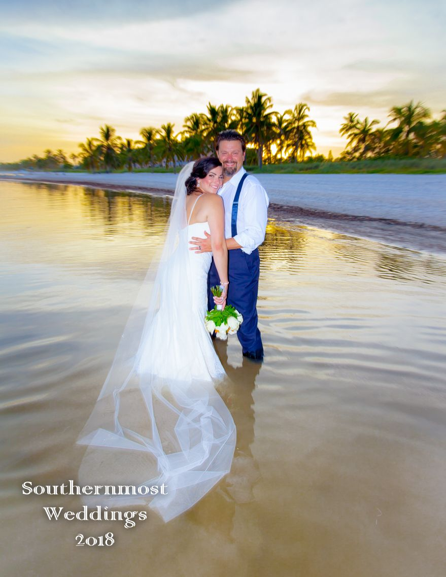 Just The Two Of Us Beach Wedding Package Smathers Beach Wedding Just Before Sunset O Beach Wedding Packages Sunset Beach Weddings Key West Wedding Photography