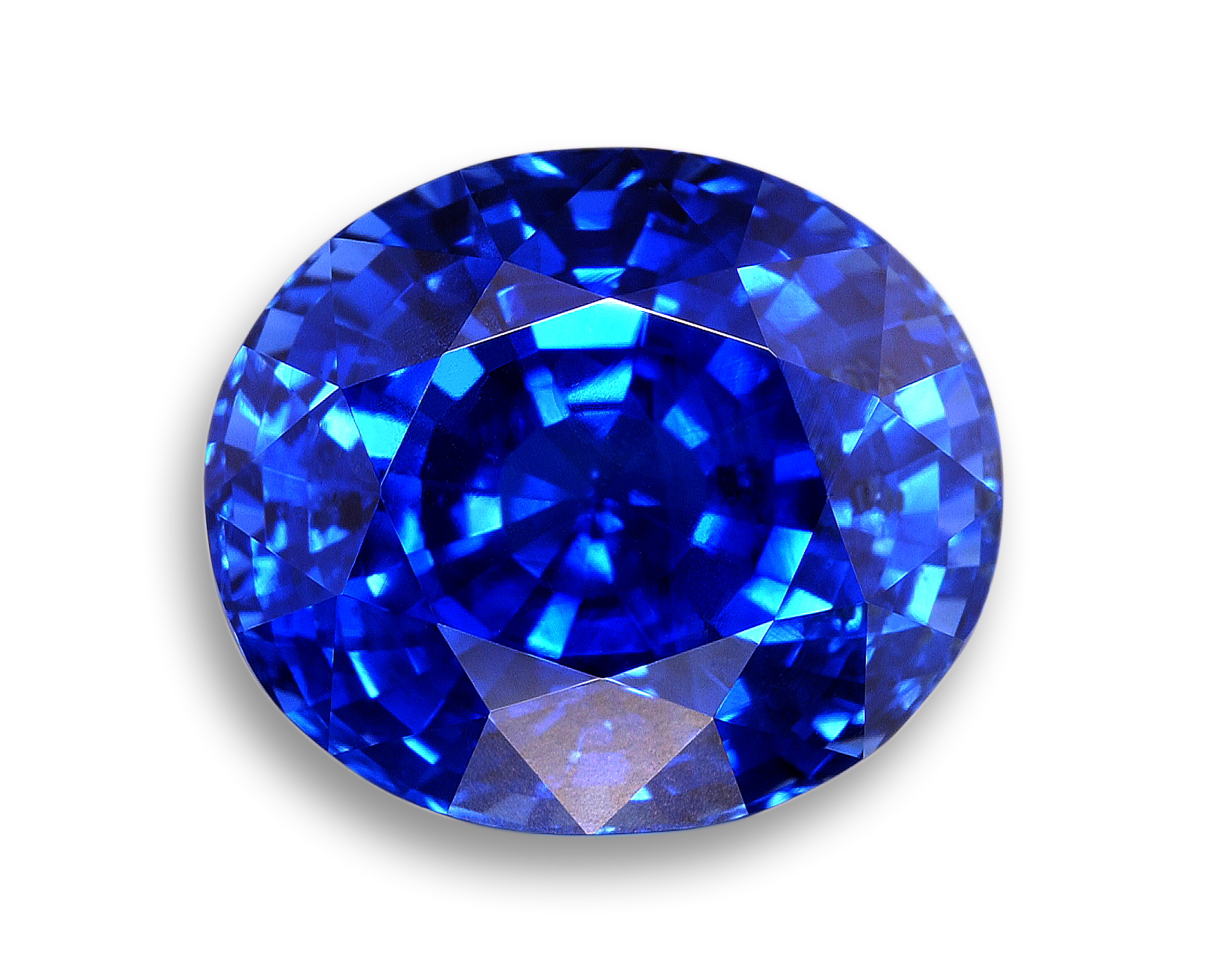 Image of Faceted Blue Sapphire | Gems | Pinterest | Gems ...