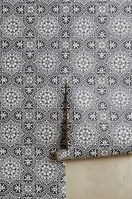 wallpaper moroccan inspired wallpaper in black and white