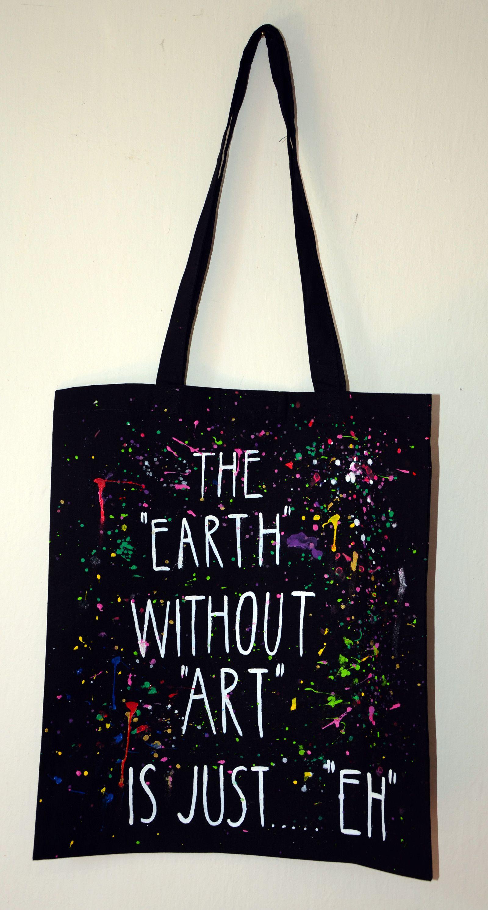 span Plátěná taška se suchým zipem - ART ... 7d027345cc3ee