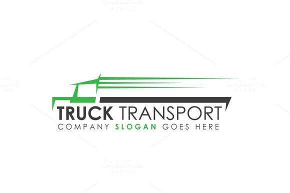 Truck Transport Logo Template Truck Transport Trucking Companies Logo Templates