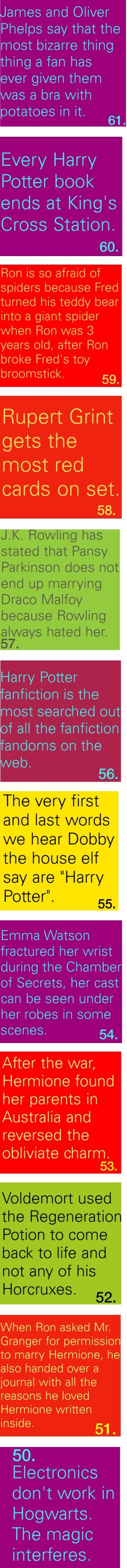 I disagree with 52  Because of the horcruxes, Voldemort was