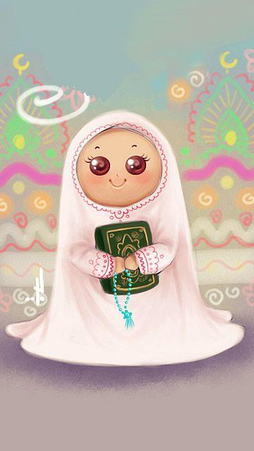 Prayer Ramadan Kareem Islamic Cartoon Ramadan