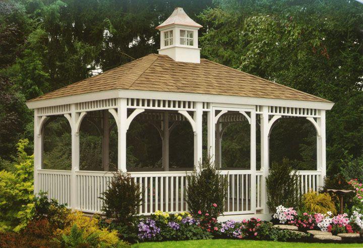Victorian Pavilion Bandstand Gardencraft Large Gazebos And Pavilions Gazebo Large Gazebo Outdoor Shelters