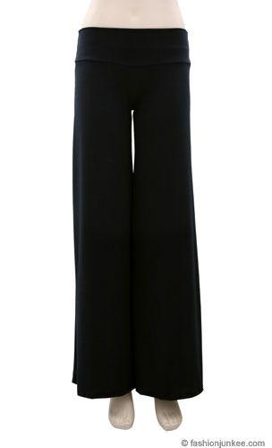 Boho/Palazzo Long Gaucho Pants-Black | Gauchos | Pinterest ...