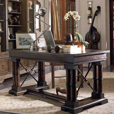 european farmhouse patron 39 s writing desk for sale wayfair office ideas farmhouse desk. Black Bedroom Furniture Sets. Home Design Ideas