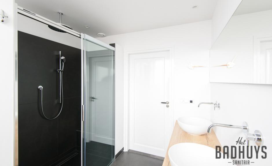 Wastafel Op Maat : Smaakvolle badkamer met wastafel op maat het badhuys badkamer