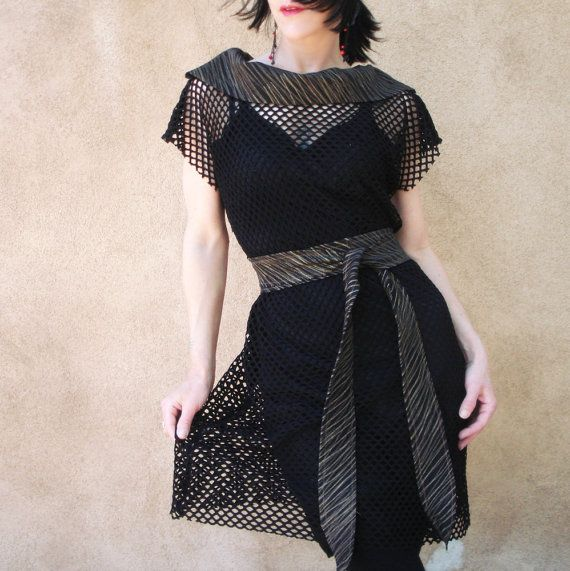 Confess  iheartfink Handmade Mesh Net Dress with by iheartfink, $115.00