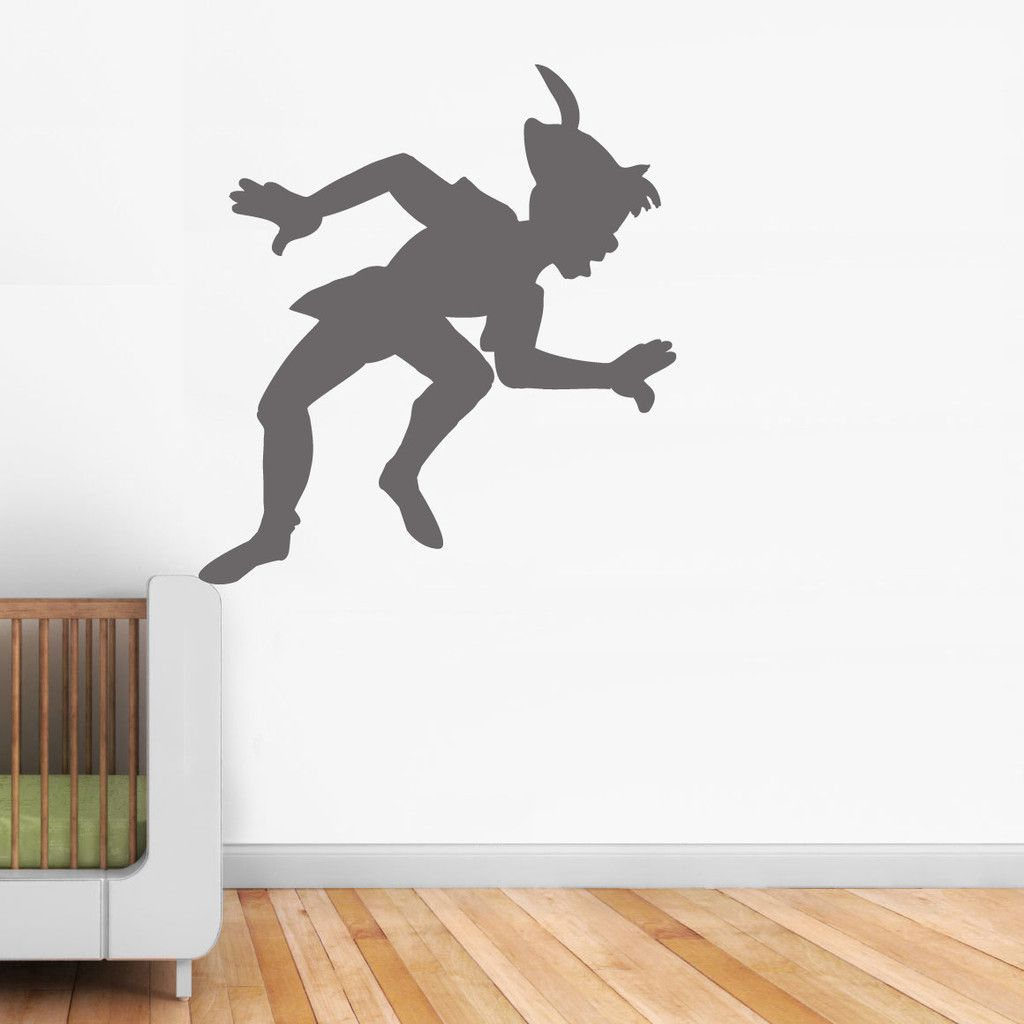 Peter Panu0027s Shadow Wall Sticker In By Vinyl Impression Part 71