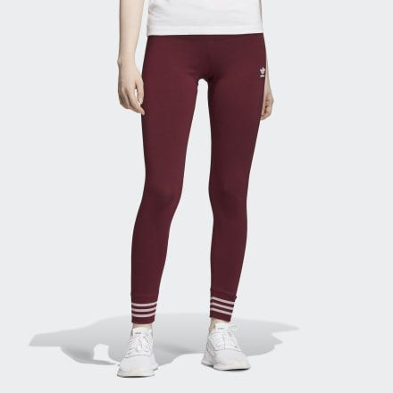 Tights | Burgundy leggings, Maroon leggings, Adidas canada