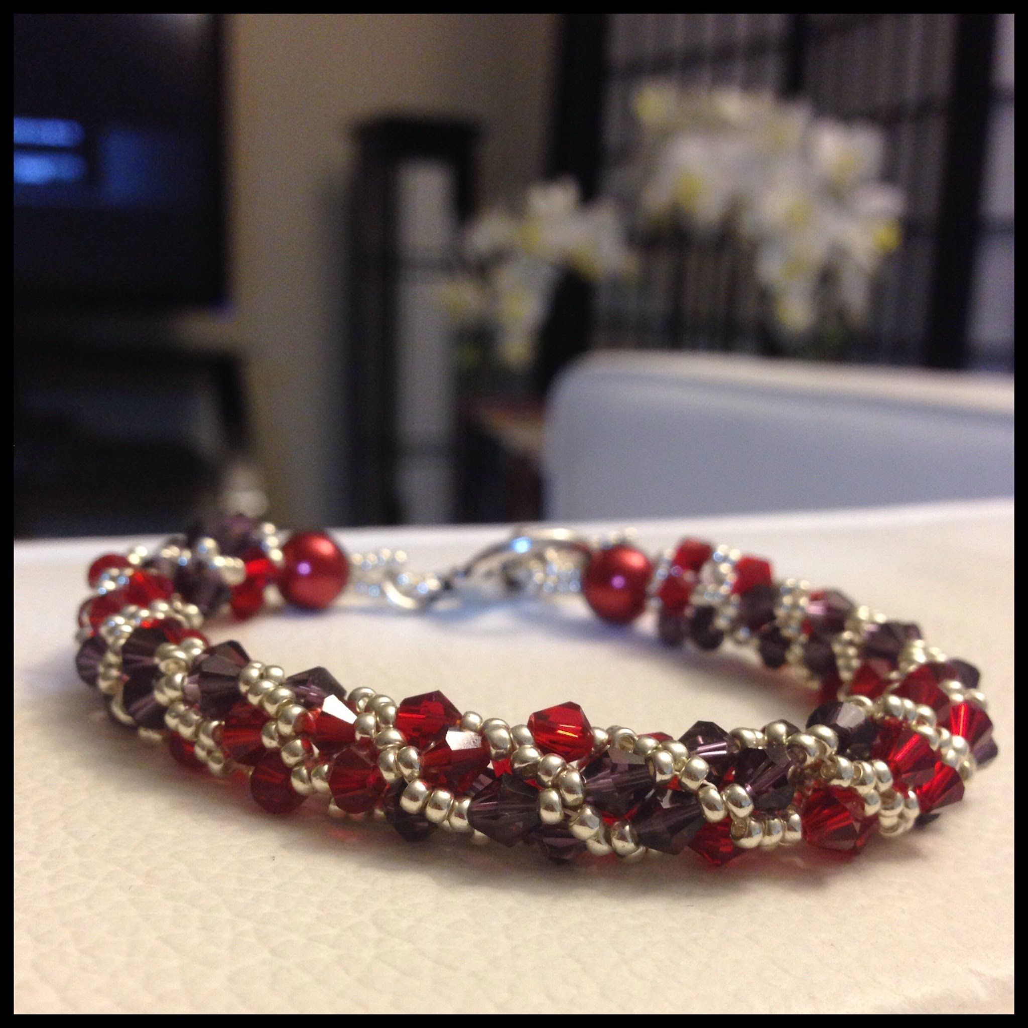 youtube beaded video watch tutorial crystal bracelet