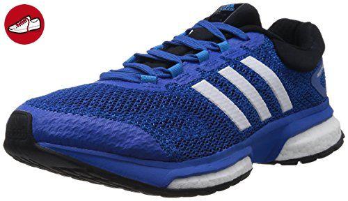 adidas response boost m, Herren Laufschuhe, Blau (Black 1/Blue Beauty F10