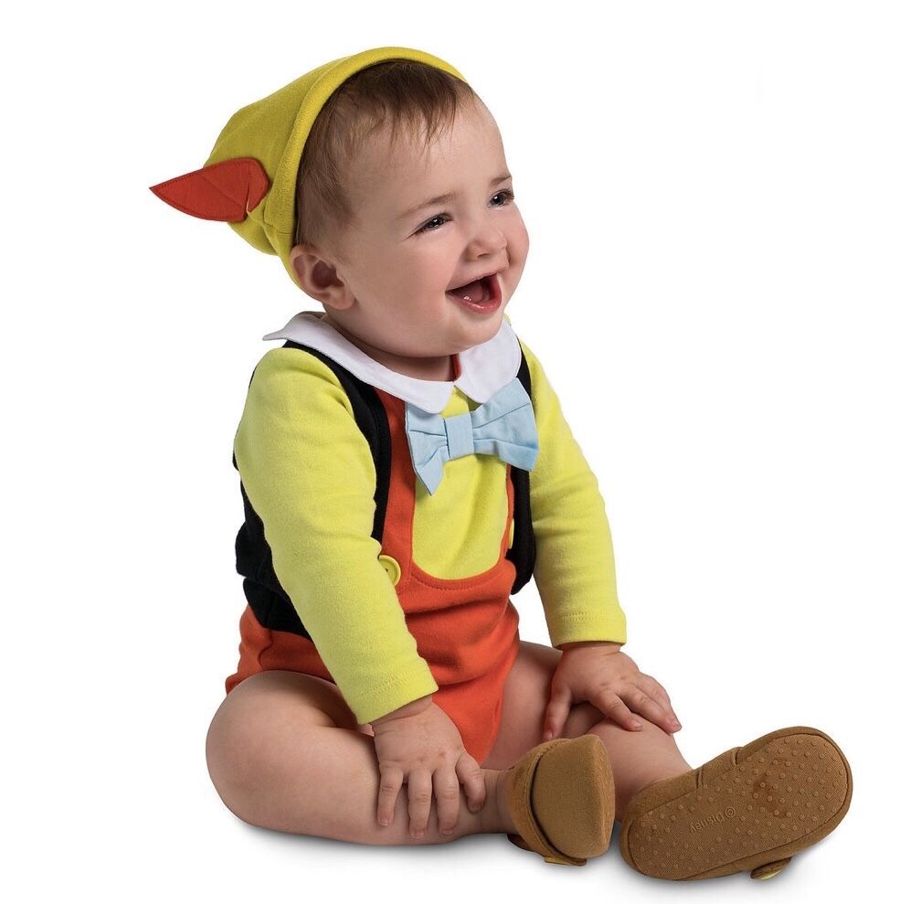 Pinocchio Costume Bodysuit Set for Baby in 2019 Baby