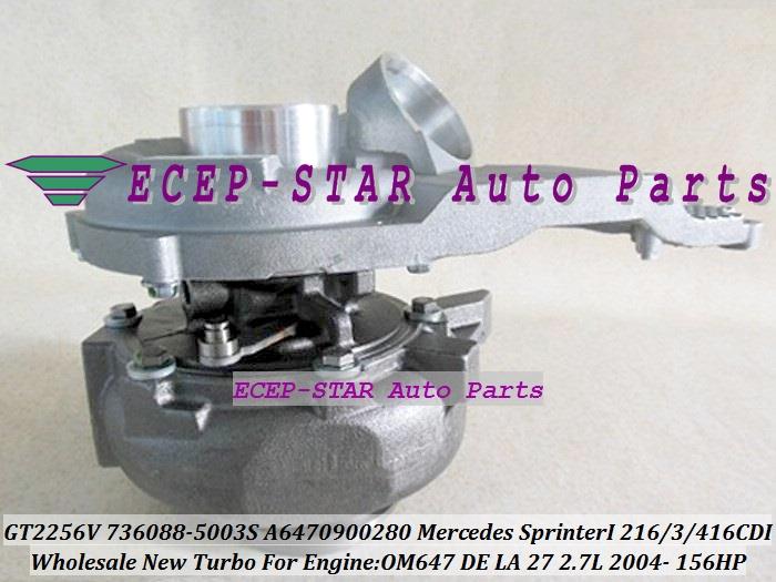 464 09 Watch Now Free Ship Gt2256vk 736088 5003s 736088 A6470900280 Turbo For Mercedes Benz Sprinter I 216cdi 316cdi 416c Kitchen Aid Mixer Auto Cheap Shop