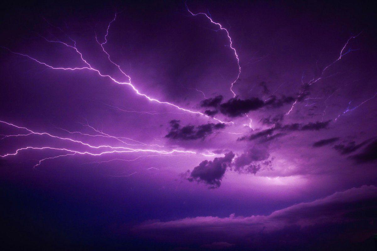 Purple Sky Purple Lightning Lightning Photos Lightning Photography