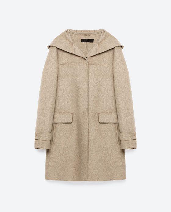 Image Of Woollen Wardrobe Coat From ZaraPieces 11 EDW9Y2HI
