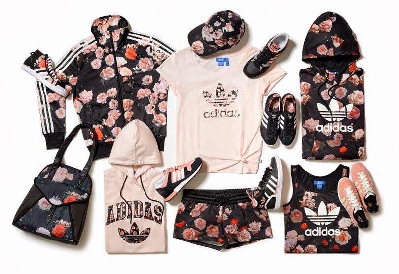adidas roses