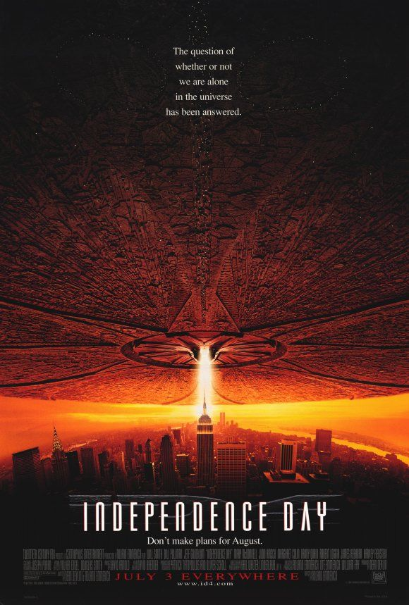 1996 S Independence Day 1990s Movies Movie Posters Action