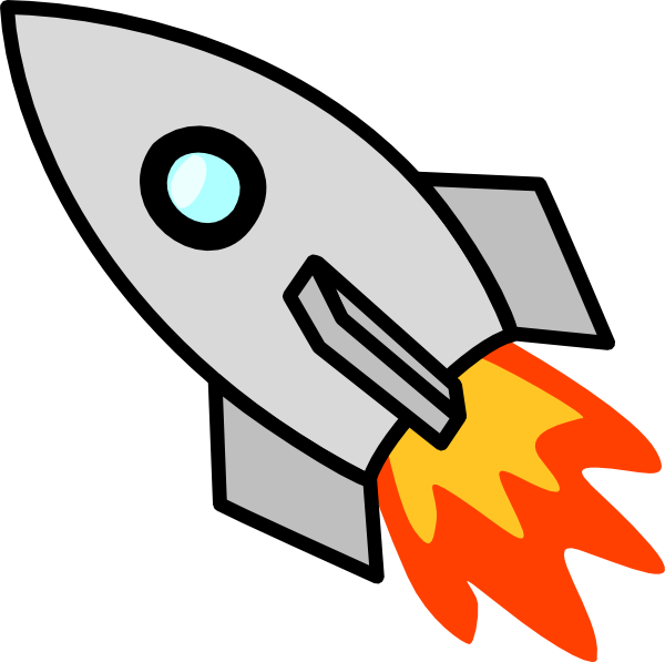 rocketship clipart piggybank clip art vector clip art online rh pinterest co uk rocket ship outline clipart rocket ship clipart free