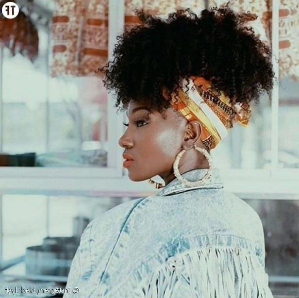 Coiffure Bandeau Cheveux Afro Omyoga