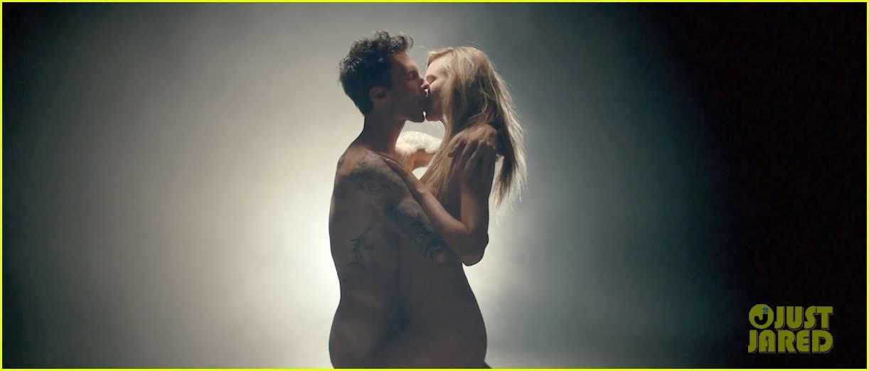 Nude and sex music video