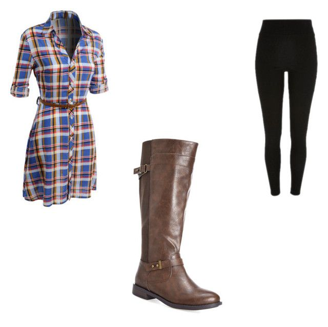 """Riding Boots"" by ninasbina ❤ liked on Polyvore featuring мода, LE3NO и Avenue"