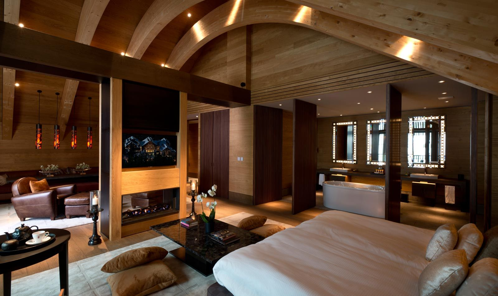 Gemsstock Suite The Chedi Andermatt Luxury Hotel Switzerland