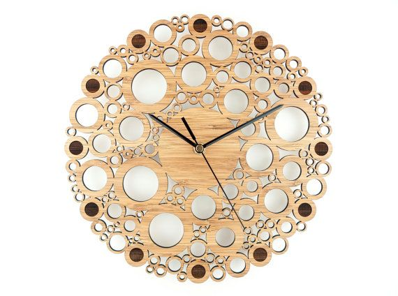 outdoor bamboo wall clock wall clock bamboo circle union circles modern wall and