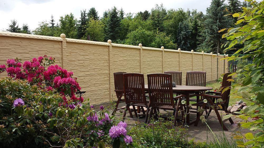 MUSTER Betonzaun Gartenzaun Betonmauer GartenMauer