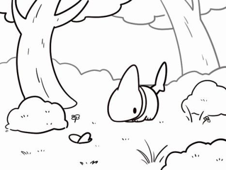 ready____by_0vress0 shark pup coloring page | Adorbs, Terminal ...