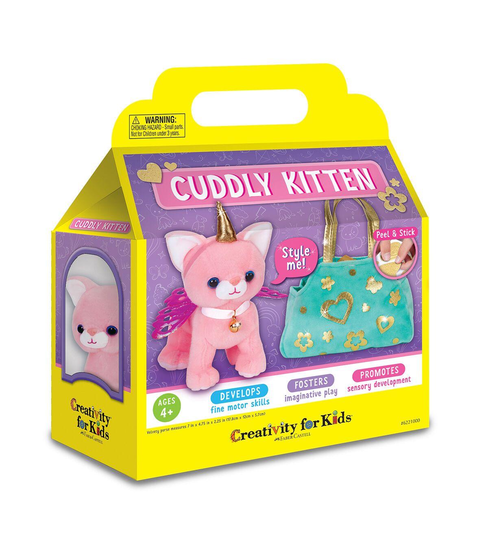 Creativity For Kids Cuddly Kitten In 2020 Stuffed Animal Cat