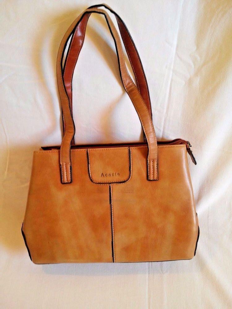 52ff7dfaeaf6ce Bag Leather Acacia Brown Shoulder Purse Women's Tote Handbag Crossbody  Vintage . #Acacia #CrossbodyDoctorShoulderBagTote