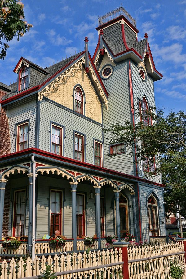 Cape may new jersey victorian house rp by dch paramus for Victorian house facts