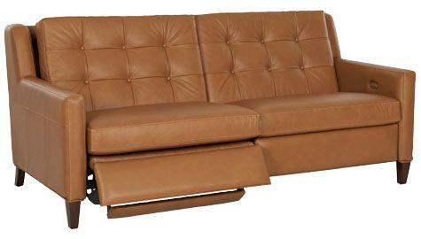 Lowry Mid Century Modern Power Wall Hugger Reclining Loveseat Modern Recliner Sofa Modern Reclining Loveseat Modern Recliner