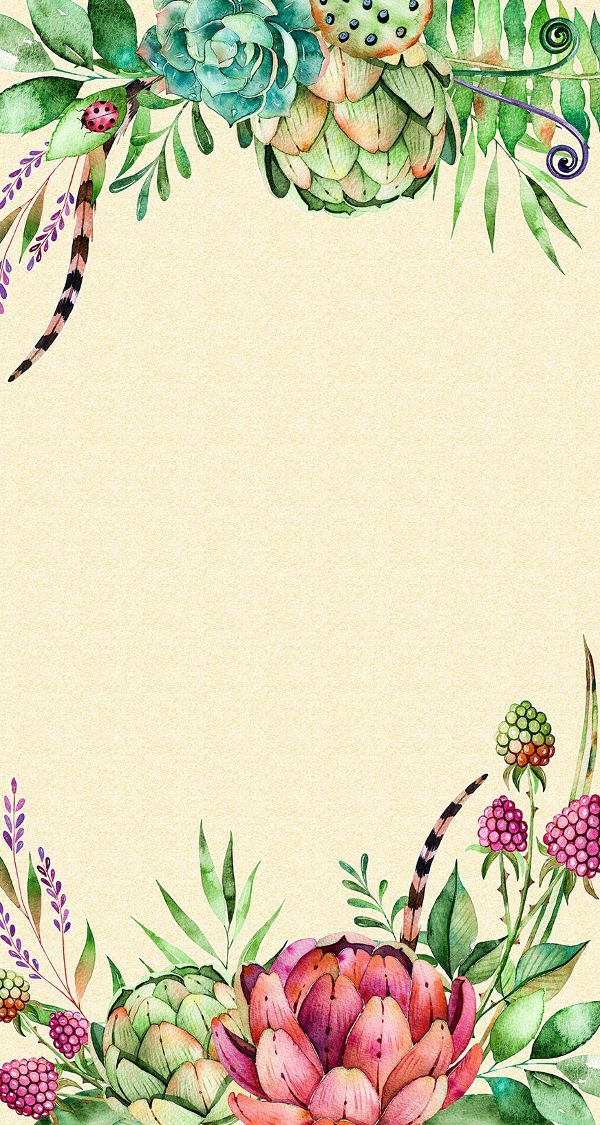 Pin by Ekta Das on Illustration Flowery wallpaper