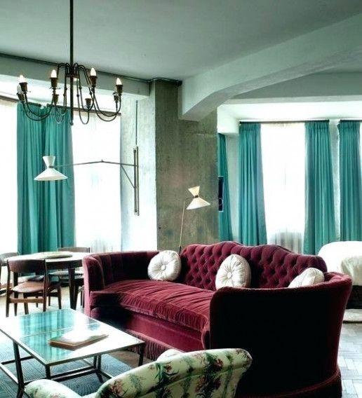 Teal Burgundy Wedding Living Rooms images