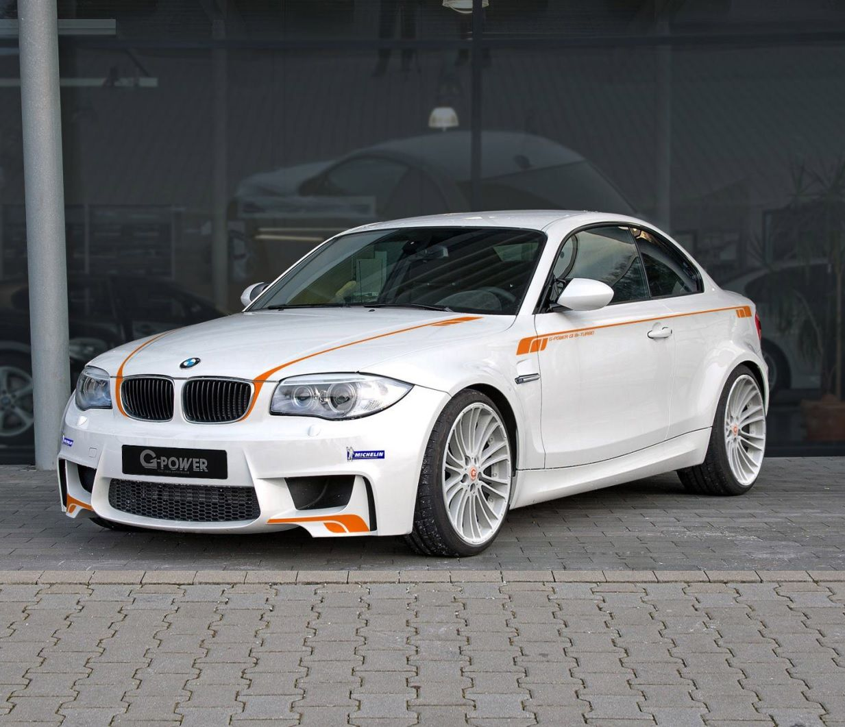 G Power Have Improved The Bmw 1m Coupe Increasing The Bhp To 435 And The Torque To 590 Nm Resulting In 0 62 Mph In 4 5 Seconds On Bmw Bmw 1 Series Coupe Cars 2013 bmw 1 series m coupe by
