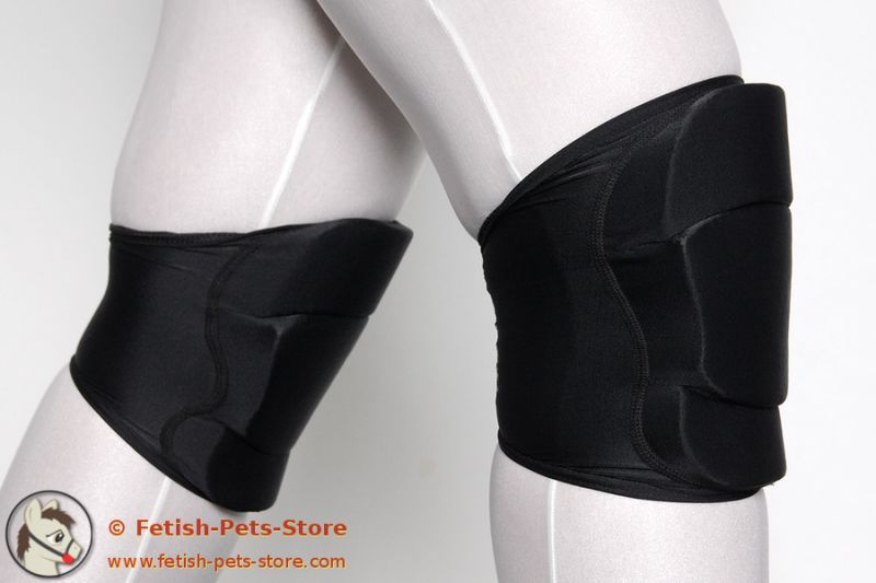 Soft Knee Pads, a must have for pet play requiring crawling -Ellsie Margaux