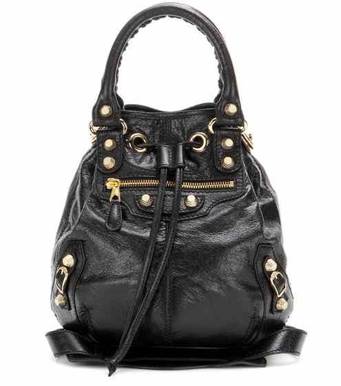 Giant Mini Pompon leather shoulder bag  80e64dfa190b1