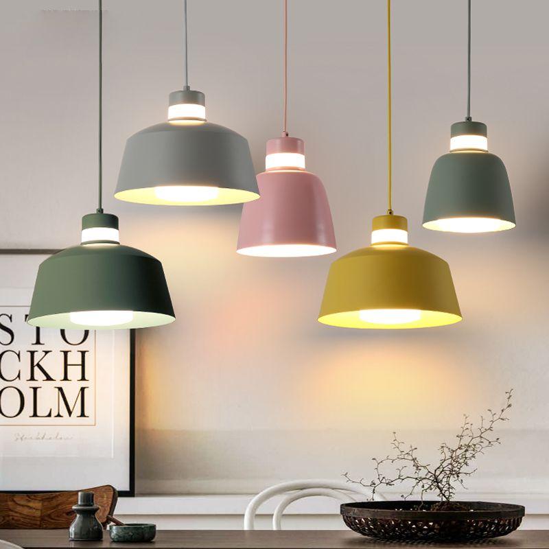 g nstige bunte cafe bar metall esszimmer pendelleuchte lampada luminarias dekoration leuchte mit. Black Bedroom Furniture Sets. Home Design Ideas