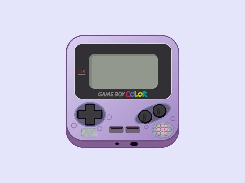 Gameboy Color Icon Gameboy Design Icon