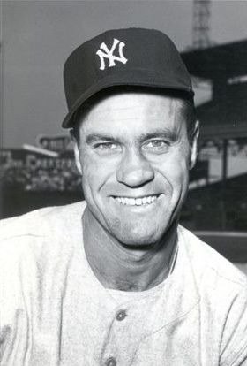 Hank Bauer (1922 - 2007) Baseball player/manager, he won seven World Series as a player with the New York Yankees and in 1966 went on to manage the Baltimore Orioles to their first World Series title
