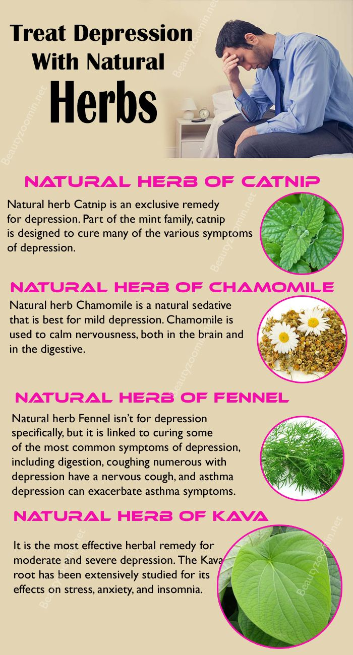 how to treat depression with natural herbs | herbs and alternative