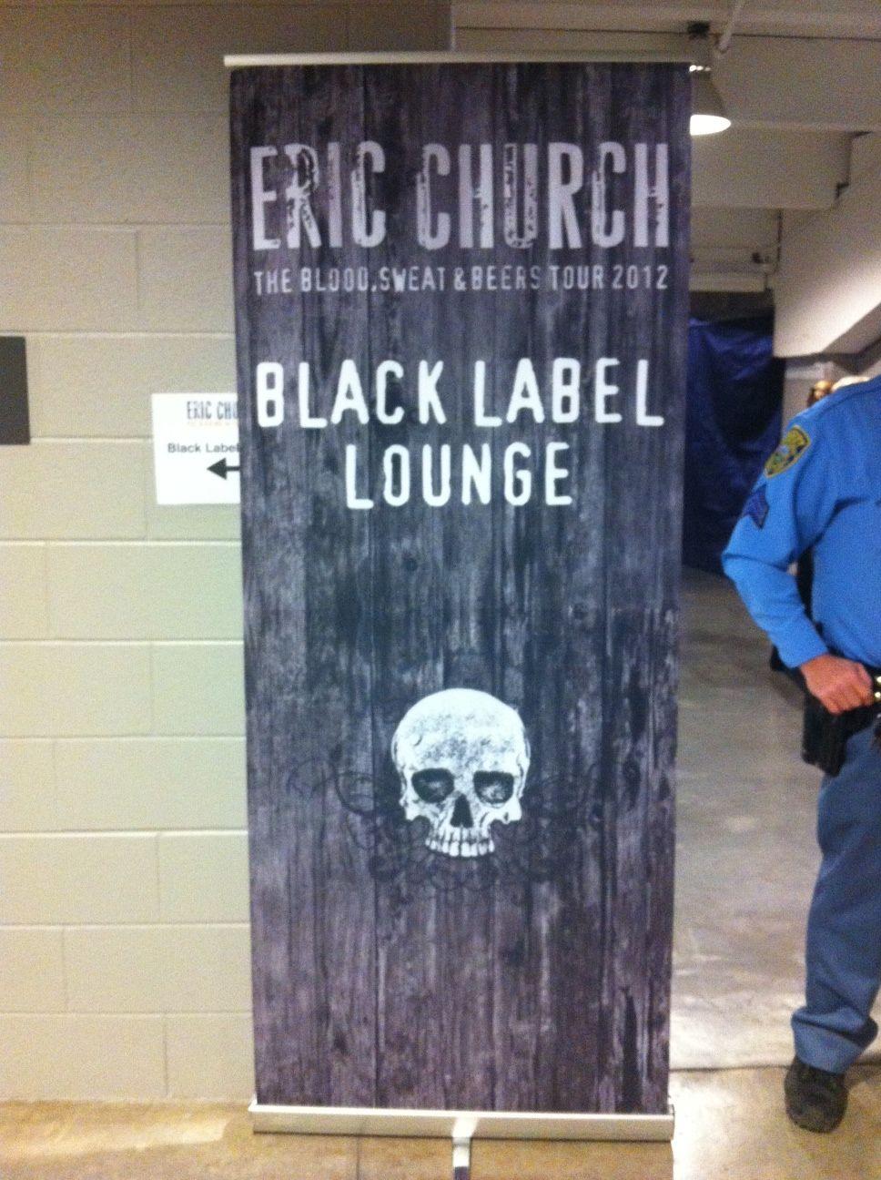 Eric Church 'Black Label Lounge'