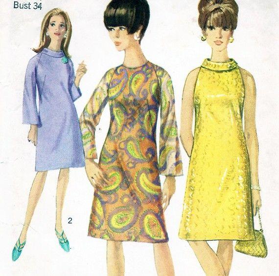 Vestido de fiesta 1960