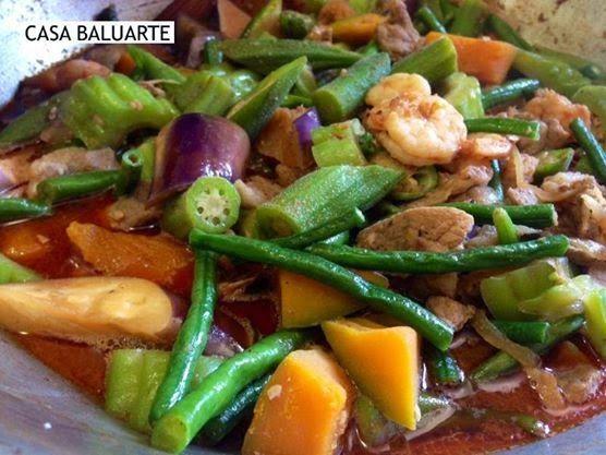 Casa Baluarte Pinakbet Ilonggo Style Pinakbet Pinakbet Recipe Filipino Recipes