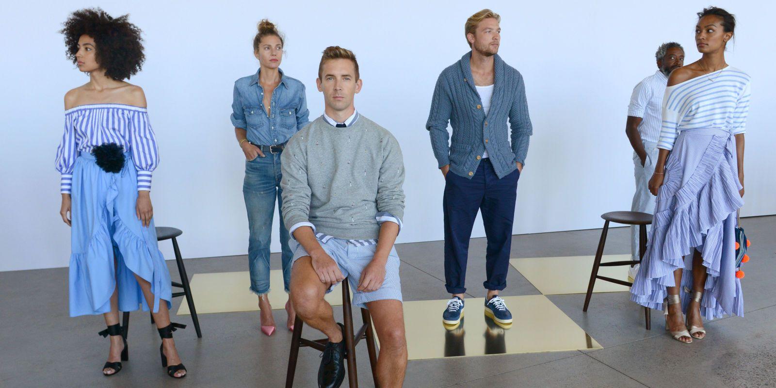 """Meet the """"Real People"""" Modeling for J. Crew http://ift.tt/2cdm1vm #ELLE #Fashion"""
