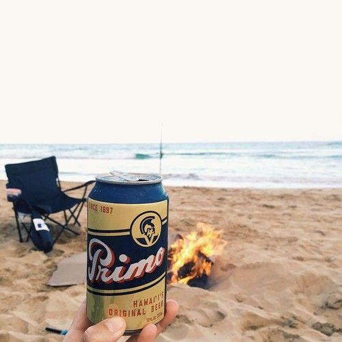 Cheers to the weekend: Beach, Fish, BBQ, Bon fire, Friends...No worries | #luckywelivehawaii
